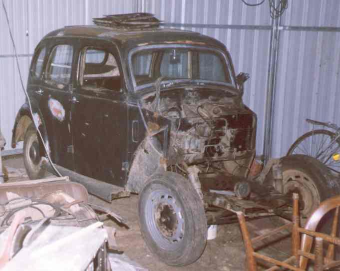 old prefect in repair