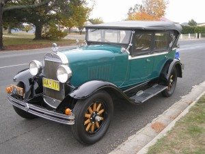 1928 Oldsmobile Tourer