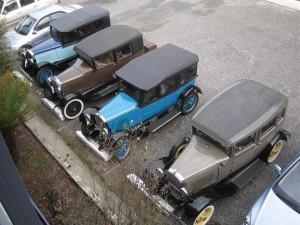 Vintage Parking Lot