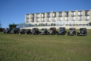 Entrants on Scamander Beachside Motel Lawns