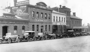 Nettlefolds Bodyworks Elizabeth Street Hobart 1915-16