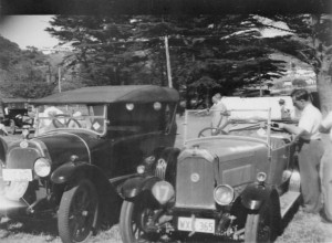 OM 465 1922 Sid Cripps and Swift Tourer 1927 Cyril Park
