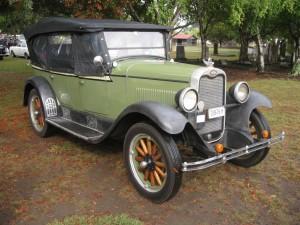 1928 Chevrolet Tourer.