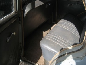Rear Seat and Carpets