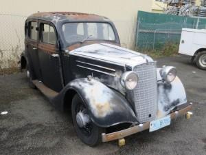 1935 Vauxhall Sedan