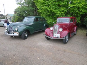 Willys and Buick sedans