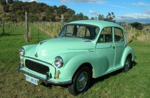 31 - 1958 Morris Minor 4 Door Sedan