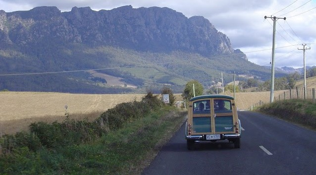 Tasmania is well  known for its beautiful country roads. Club outings are popular