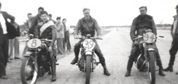 Motor Cycle racing in Tasmania 1948-49